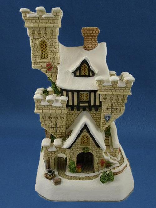 Christmas Castle David Winter Cottage