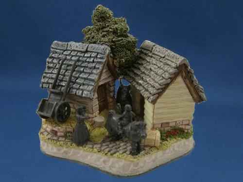 Lancashire Donkey Shed David Winter Cottage