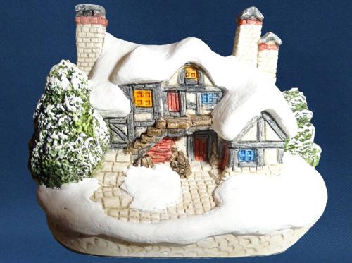 Let It Snow David Winter Cottage