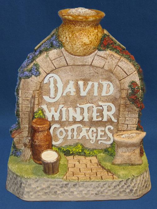 Porridge Pot Arch David Winter Cottage