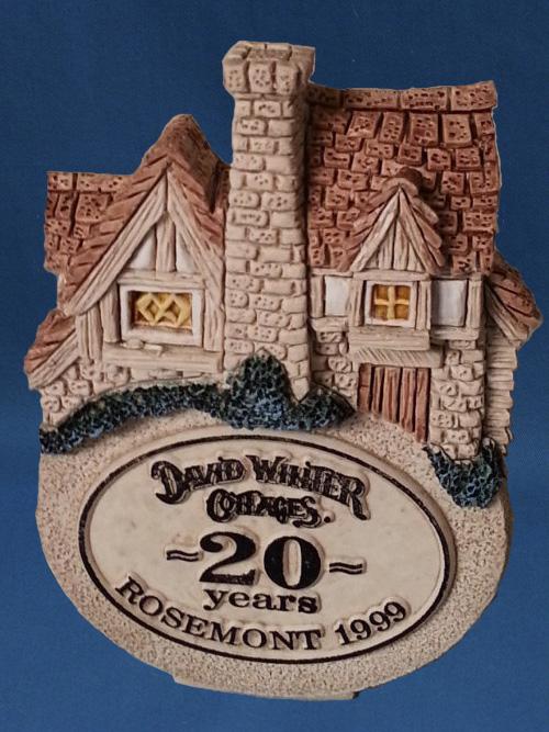 Rosemont Giveaway David Winter Cottage