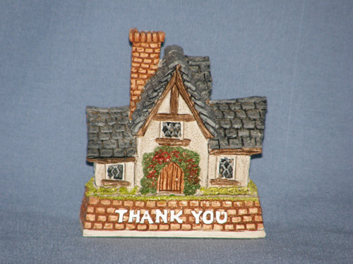 Thank You Gift David Winter Cottage