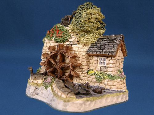 Wiltshire Waterwheel David Winter Cottage