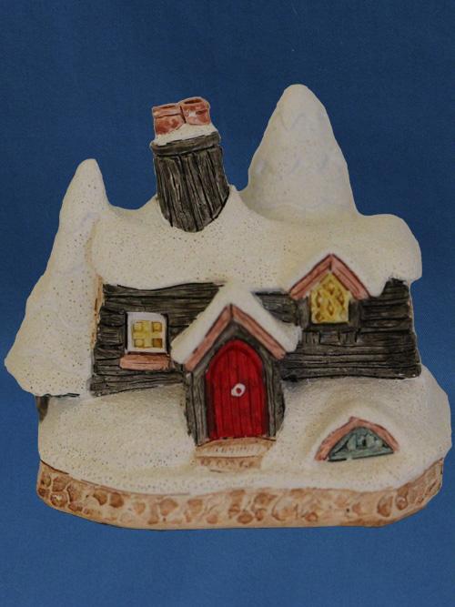 Yuletide Cottage David Winter Cottage